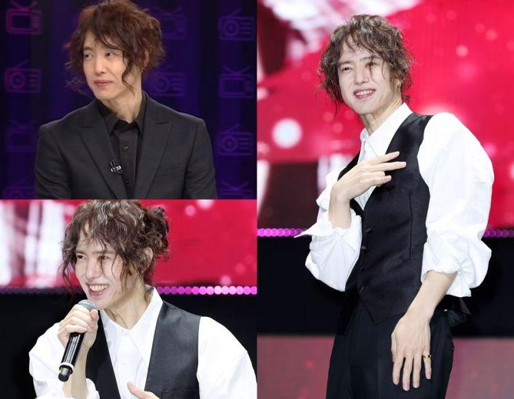 묶음머리가 독특하다. 사진=JTBC '뉴스룸' 방송 화면, 뉴스1