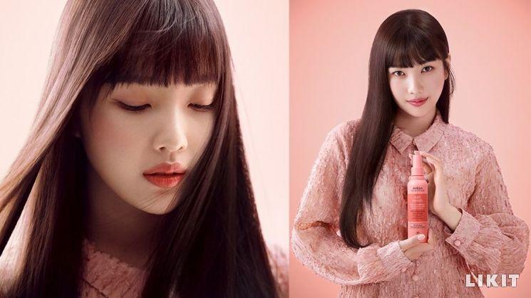 레드벨벳 조이, 아베다 2020년 새로운 공식 모델로 발탁. 사진=아베다
