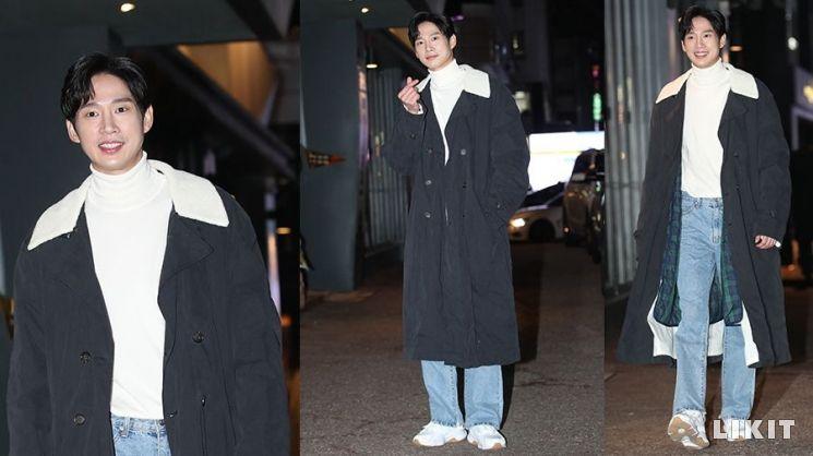 '싸패다' 박성훈의 종방연 패션은 퍼롱점퍼룩