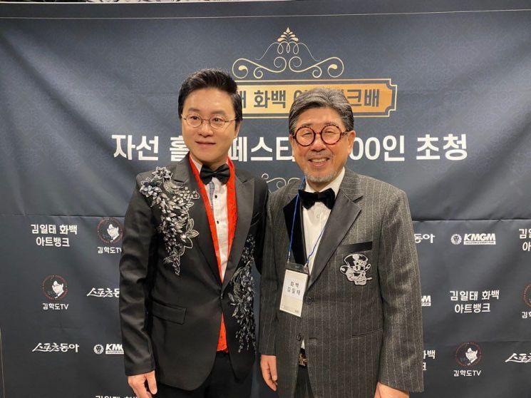 김일태 화백 '아트뱅크배 자선 홀덤 페스티벌' 성료