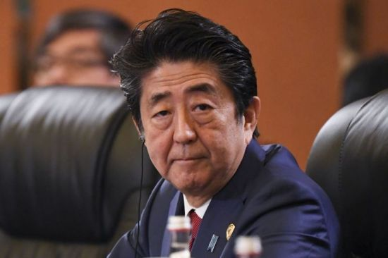 아베 신조 일본 총리.[이미지출처=AP연합뉴스]