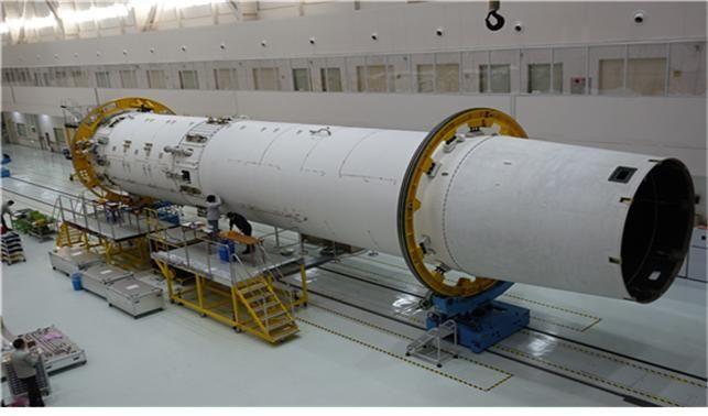 체계개발모델(EM) 단계에 들어간 누리호 1단/ 한국항공우주연구원