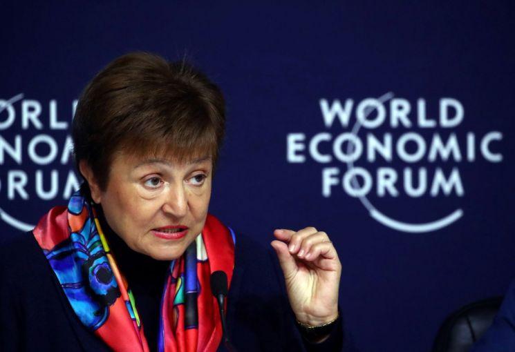 크리스탈리나 게오르기에바 IMF 총재 [이미지출처=로이터연합뉴스]