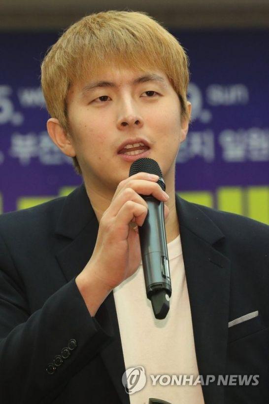 제21회 부천국제만화축제 홍보대사로 위촉된 기안84가 인터뷰 하고 있다. [이미지출처=연합뉴스]