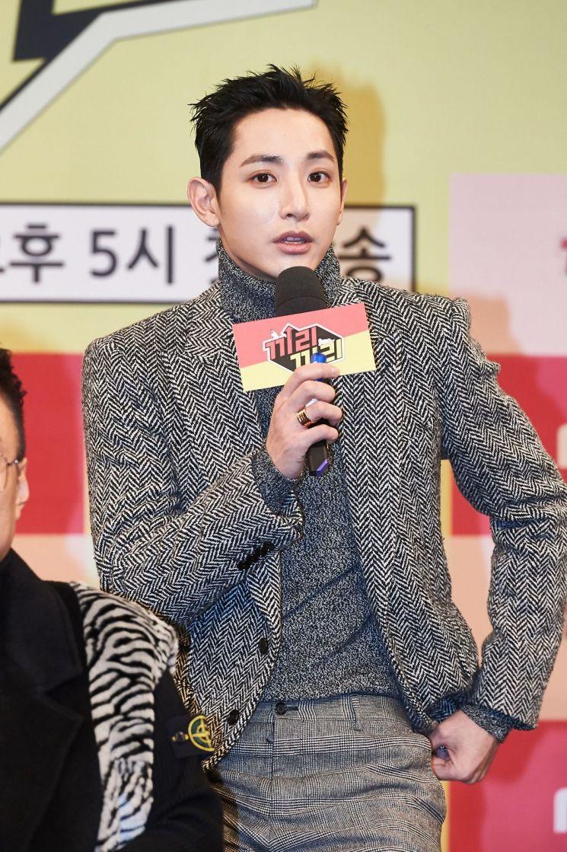 예능 프로그램 '끼리끼리'에 출연하는 배우 이수혁. 사진=MBC