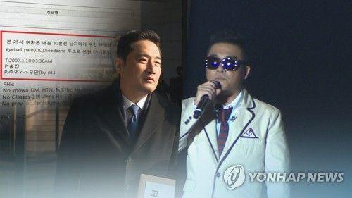 강용석 변호사(좌) 가수 김건모(우)