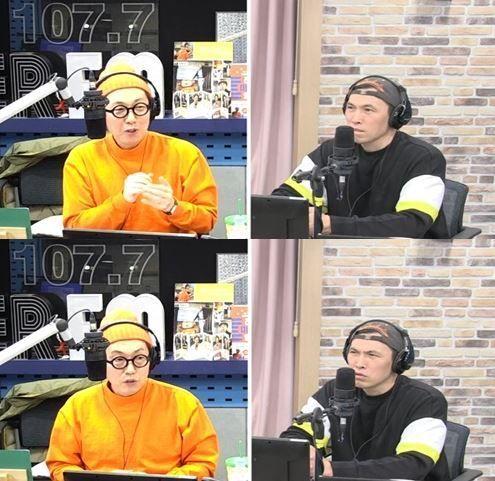 22일 방송된 SBS 파워FM '김영철의 파워FM'에서 배우 유오성이 SBS '정글의 법칙' 출연 소감을 전했다/사진=SBS 파워FM '김영철의 파워FM' 방송 화면 캡쳐