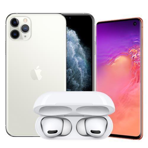 아이폰11 시리즈 에어팟프로 증정 '모모폰' 갤럭시S10 리패키징 0원 이벤트