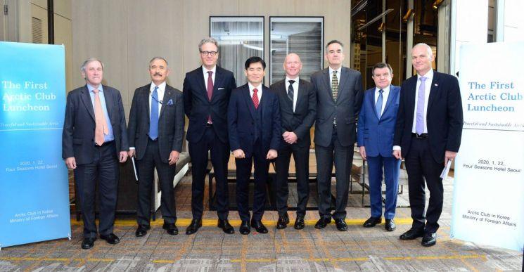 외교부, 미국·러시아 등 주한 대사관과 'Arctic Club in Korea' 결성