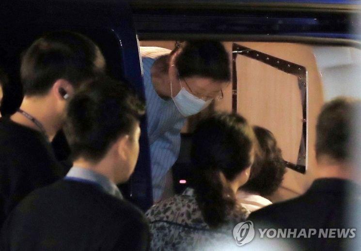 서울성모병원 도착한 박근혜 전 대통령 / 사진=연합뉴스