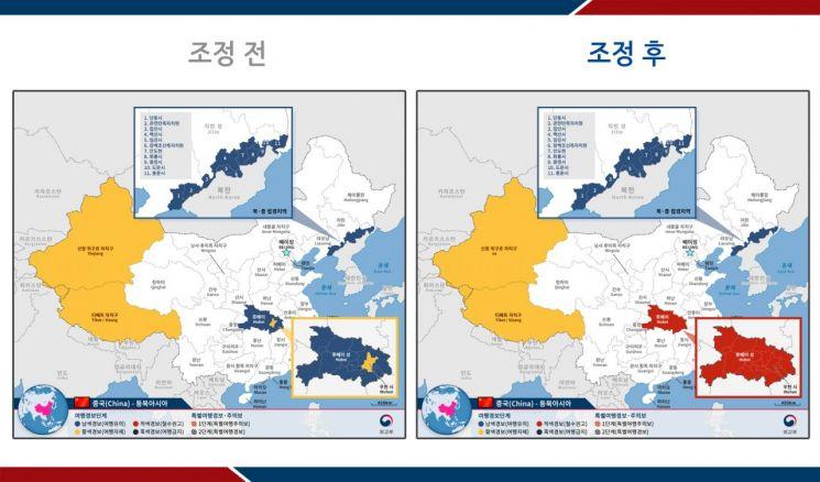 """""""긴급 용무 아닌 한 '철수 권고'""""…中 후베이성 여행경보 상향"""