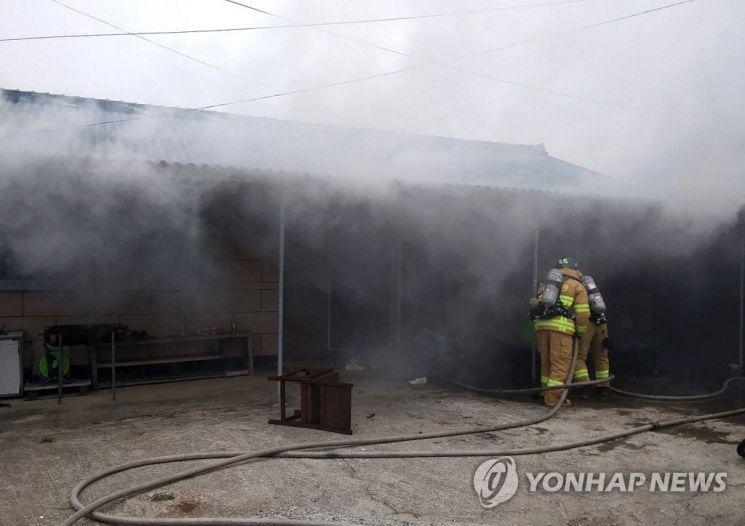 해남서 주택화재로 외국인 근로자 3명 사망   사진자료=연합뉴스