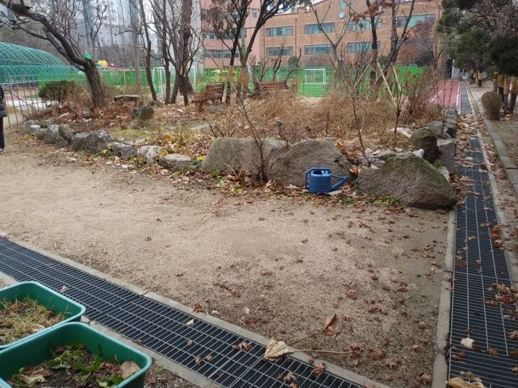 학교내 자투리땅 활용 사례