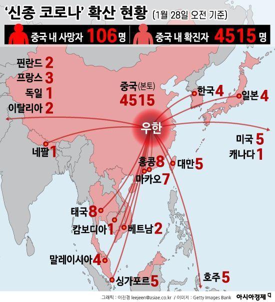 '우한 리스크' 커진 韓기업, 직원 귀국·출장 금지…中사업 차질 우려(종합)