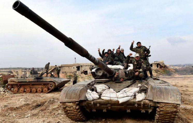 시리아 정부군 [이미지출처=AP연합뉴스]