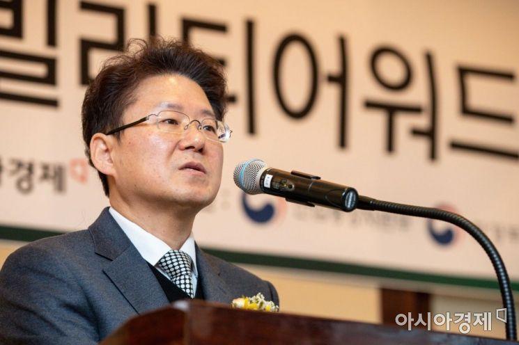 [포토]김필수 대림대학교 교수 심사평