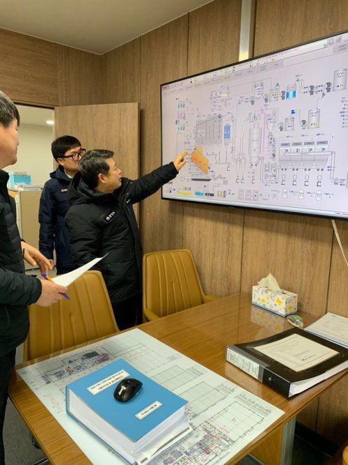 [포토] 영산강청, 의료폐기물소각시설 점검