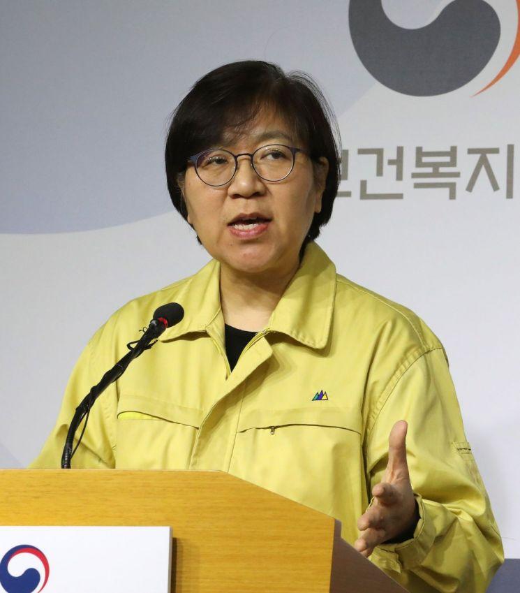정은경 질병관리본부장<이미지:연합뉴스>