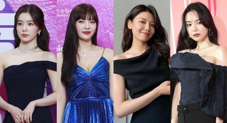 레드벨벳 아이린, 조이, 에이핑크 손나은, 소녀시대 수영. 사진=뉴스1, 수영 인스타그램