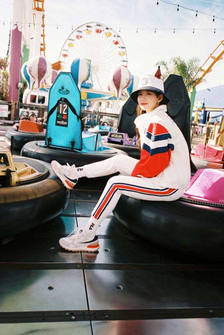 휠라, 김유정과 함께한 '2020 스프링 헤리티지 컬렉션'