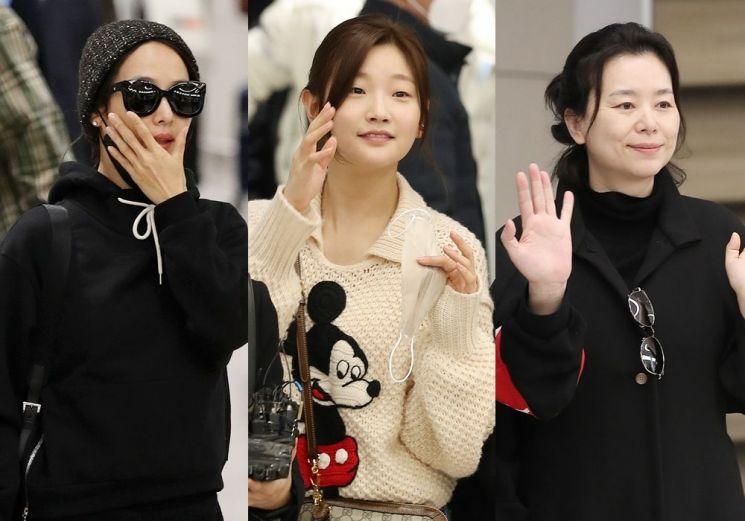 영화 '기생충' 조여정, 박소담, 장혜진. 사진=뉴스1