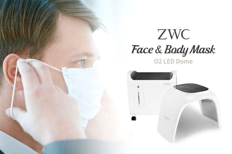 코로나19, 미세먼지 등으로 인한 마스크 착용의 생활화, 부족한 산소를 ZWC '페이스&바디 마스크(산소LED돔)'로 보충하자