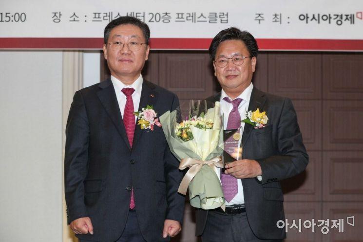 [포토]메리츠자산운용, 아시아펀드대상 '퇴직연금 국내액티브 베스트운용사' 선정