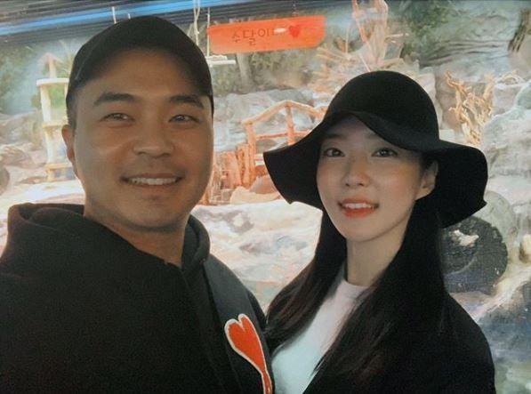 배우 정준(왼쪽)과 김유지(오른쪽) / 사진=배우 정준 인스타그램 캡처