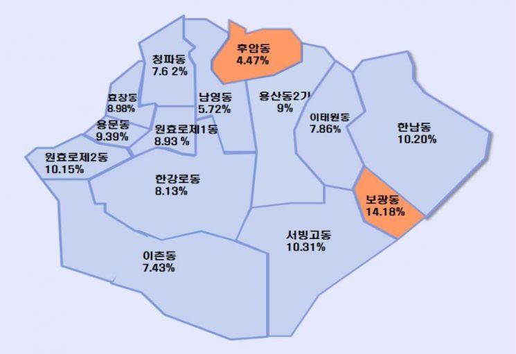 용산서 가장 비싼 땅?...아모레퍼시픽 사옥 ㎡ 당 3490만원