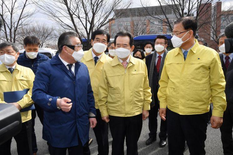 """정 총리 """"중국서 오는 학생도 우리 학생, 따뜻한 마음으로 보호해야"""""""