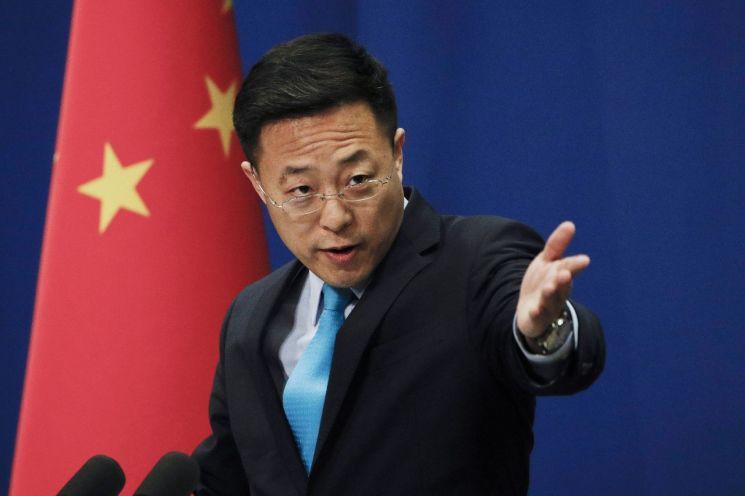 자오리젠 중국 외교부 대변인 [이미지출처=연합뉴스]