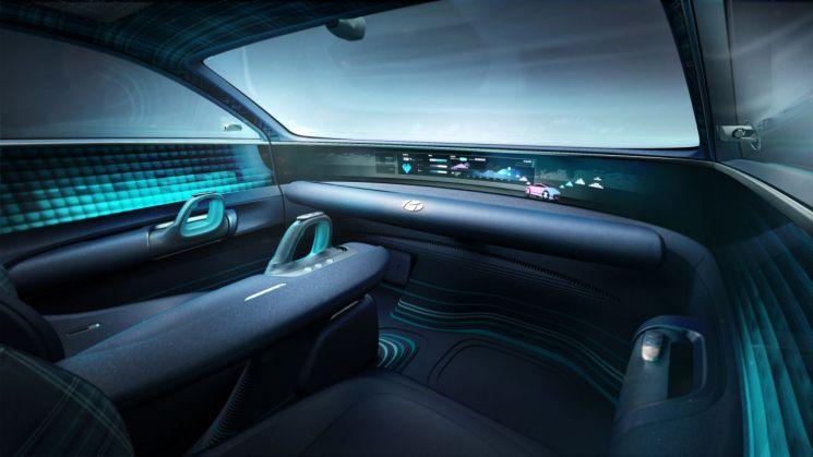 현대차 EV 콘셉트카 프로페시 인테리어/사진=현대차