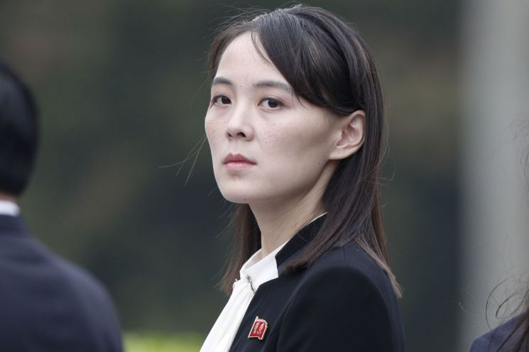 김여정 북한 노동당 제1부부장