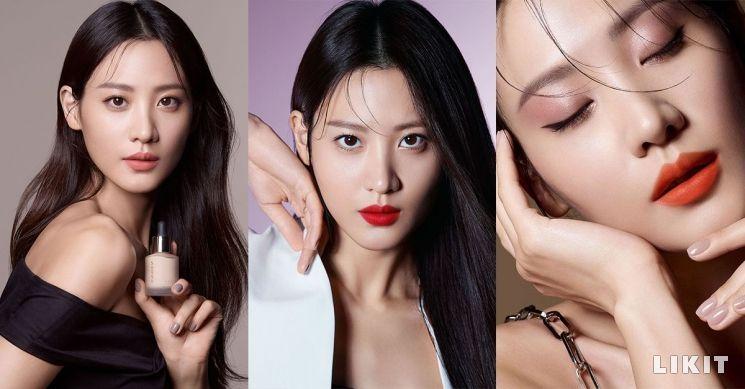 """SUQQU(스쿠)의 첫 번째 뮤즈 """"수현의 봄 컬렉션"""""""