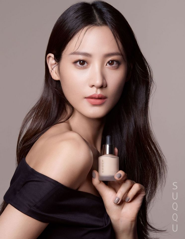 글로벌 뷰티 브랜드 '스쿠'의 첫 뮤즈, 수현