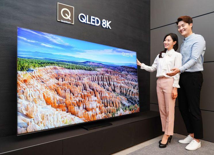 삼성 QLED 8K TV, 영국 IT 전문 매체 선정 '최고의 8K TV'