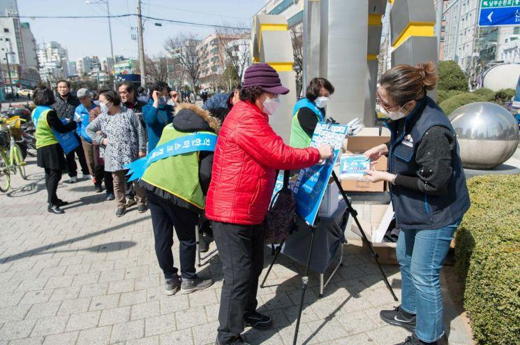 [포토] 양천구민들 '착한마스크' 캠페인 동참