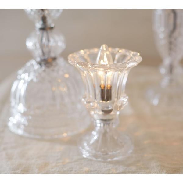 포터리반의 테이블 램프 '에타 글라스 램프 앰비언트'. 사진=포터리반