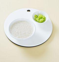 1. 쌀은 씻어서 20분 정도 불리고 대파는 송송 썬다.