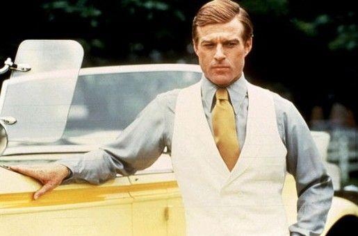 1976년 개봉한 영화 '위대한 개츠비' 로버트 레드포드 [출처 - 네이버 영화]