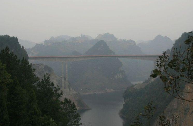 구이저우(貴州)성 런화이(仁懷)시 마오타이 마을 [출처 - 마오타이 코리아]