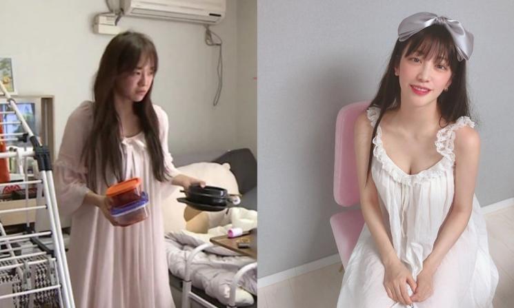 사진=MBC 나혼자산다 캡처, 최예슬 인스타그램