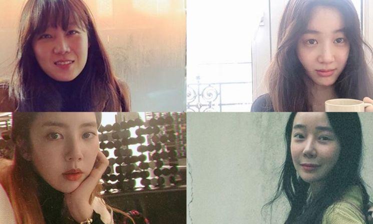 공효진, 정려원, 손담비, 김소이.