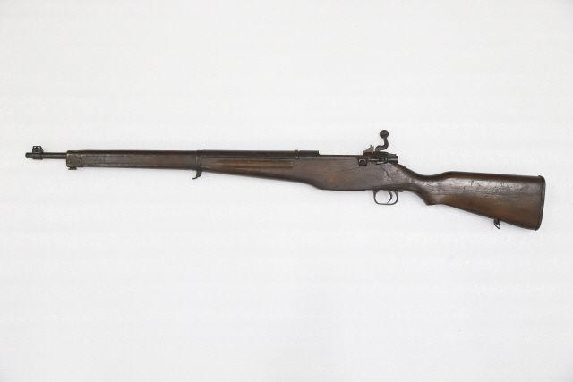 육군박물관에 소장중인 '대한식 소총' 7호. 1950년대 자주국방 노력의 상징 격이다.