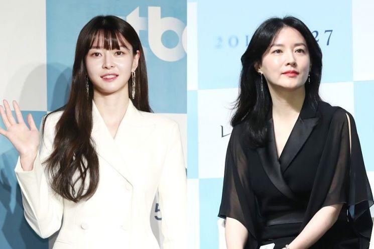 배우 권나라, 이영애. 사진=뉴스1
