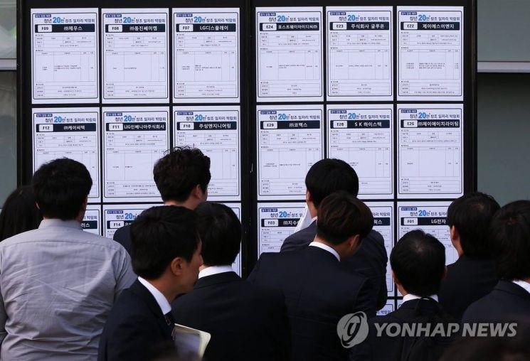 청년층 과반 이상이 한국 사회를 '헬조선'이라고 생각한 것으로 조사됐다. [이미지출처=연합뉴스]