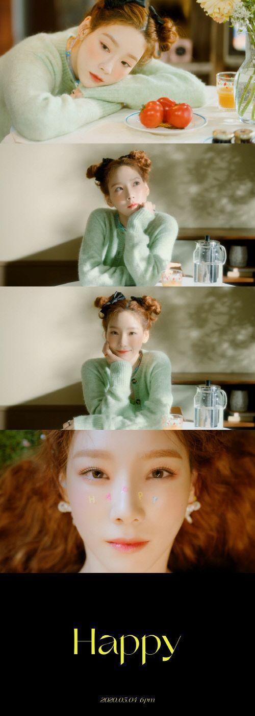 태연 신곡 'Happy' 뮤직비디오 티저 / 사진=SM엔터테인먼트 제공