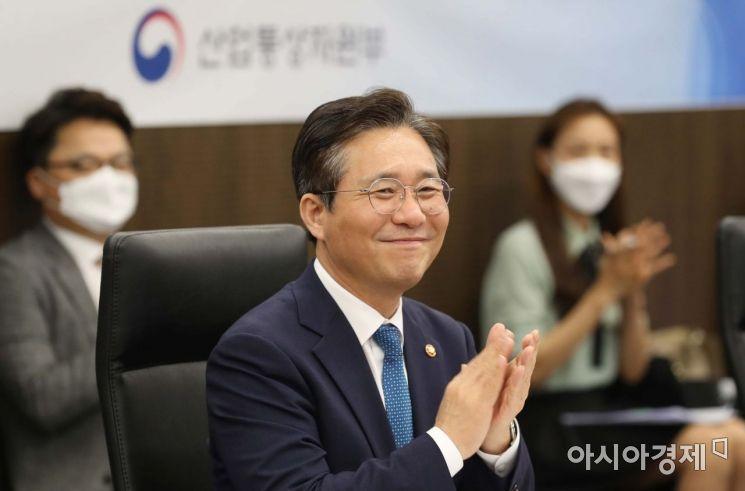 성윤모 산업통상자원부 장관. /문호남 기자 munonam@