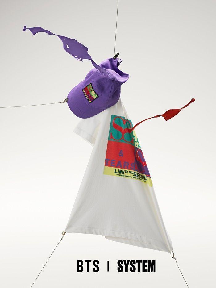 '피 땀 눈물' 모티브, 방탄소년단 캡슐 컬렉션