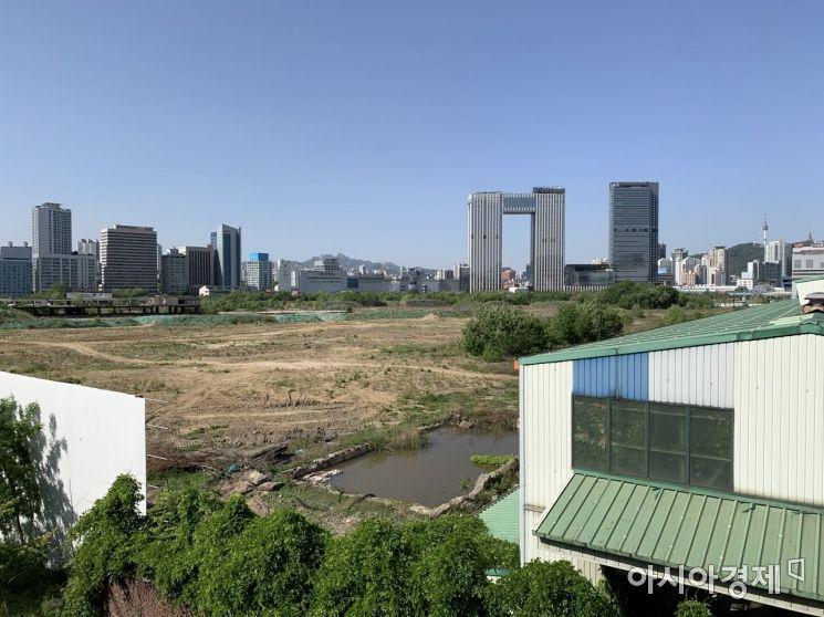 서울 용산구 철도정비창 부지 전경 (사진=이춘희 기자)